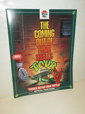 Pizza Hut Teenage Mutant Ninja Turtles Tmnt Coming Out Of Their Shell Tour Kit