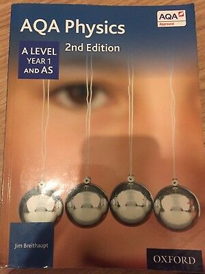 AQA Physics A Level Year 1 Student Book by Jim Breithaupt (Paperback, 2014)