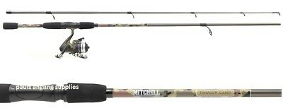 Mitchell Tanager Camo Spin Fishing Rod Spinning Rod / Reel / Line  All sizes
