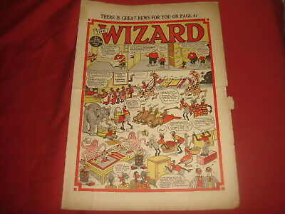 THE WIZARD #1233  Oct 1st 1949 UK  British Comic