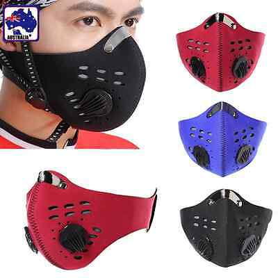 Anti Dust Motorcycle Bicycle Cycling Racing Ski Half Face Mask Filter OMASK341