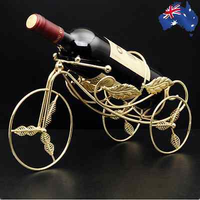 2x Metal Bike Wine Bottle Rack Decor Holder Stand Basket Tricycle HWIHA 3291 x 2