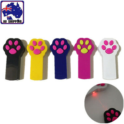 Paw Cat Dog Interactive Automatic Red Laser Pointer Funny Exercise Toy PTCL763