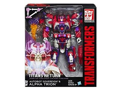 Transformers Titans Return Voyager Class Autobot Sovereign & Alpha Trion Hasbro