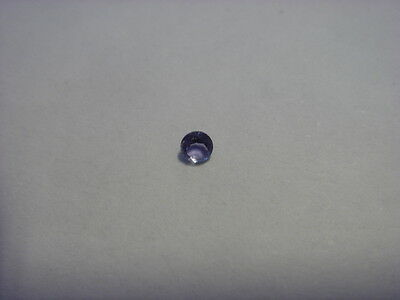 Iolite Round Cut Gemstone 2 mm Gem 0.05 carat Natural Gemstone