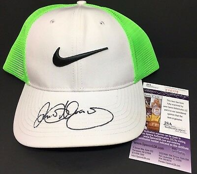 Rory Mcilroy Signed Autographed Nike Golf Hat Masters Pga British Us Open Jsa