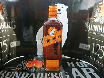 Bundaberg Rum Op Overproof 57.7% Crafted & Distilled Bottom Label