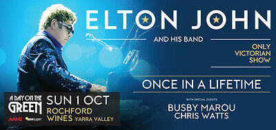 Rochford Elton John Concert, 2 A Reserve Tickets With Upgrade To The Deck Bar