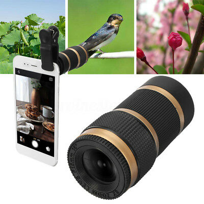 Clip-on 40x60 All Optical Telescope HD Zoom Camera Lens Smart Mobile Cell Phone