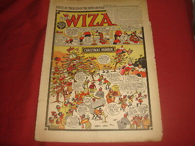 THE WIZARD #1157  Dec 20th 1947 CHRISTMAS ISSUE  UK  British Comic
