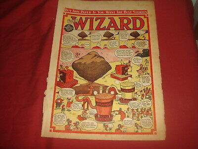 THE WIZARD #1256  Mar 11th 1950 UK  British Comic