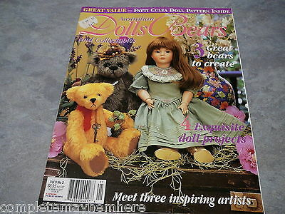Australian Dolls, Bears and Collectables Vol. 9 No. 2 Projects to make