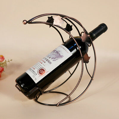 1Pcs New Metal Moon Model Wine Rack Metal Wine Holder Hot Creative