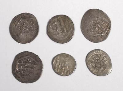 Collection of Ancient Eastern Hammered Silver Coins.