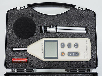 Professional digital sound level meter SL-824 * 30-130db NEW one