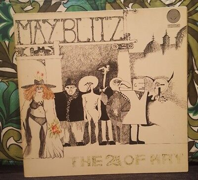 May Blitz - The 2nd of May - Vertigo - german - 1971 - Vinyl Lp