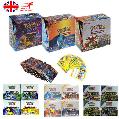 324pcs Pokemon Go TCG 36 Packs Cards Booster Box English Edition Break Point UK