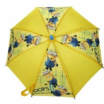 Despicable Me Minions Oops Yellow Childrens Kids Umbrella Brolly