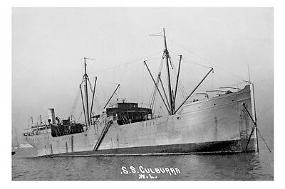 CULBURRA Aust Govt Line of Steamers c1920s modern digital Photo Postcard