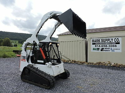 2005 Bobcat T190 Rubber Track Skid Steer Loader Kubota Turbo Diesel G Series !!!