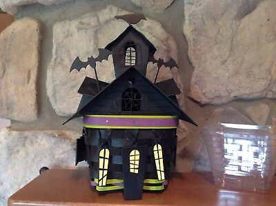 Longaberger 2016 Haunted House Basket Set.  Complete/Mint!