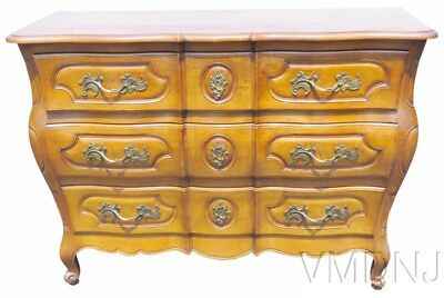 VMD1605 Auffray French Provencial Carved Walnut Commode