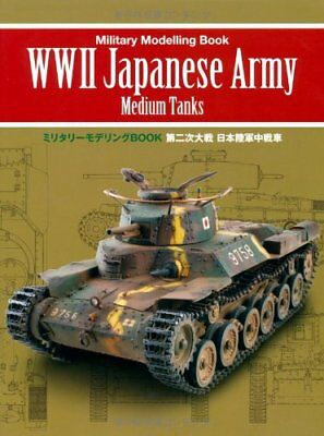 WWII WW2 Japanese Army Type 97 Chi-Ha 89 I-Go Modeling Book Japan