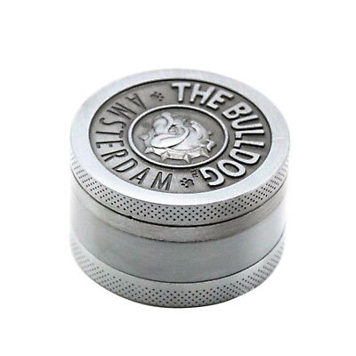 Herb Grinder Tobacco Smoke Spice Shedder Heavy Duty Metal Crusher Compact 3Layer