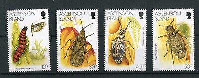 Ascension QEII 1998 Insects SG737-40 MNH