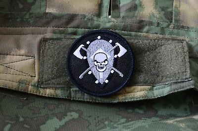 Russian FSB Alfa Black Patch, Tactical morale military patch