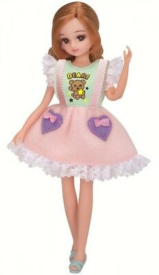 Takara tomy Licca chan dress LW-01 Cotton Candy