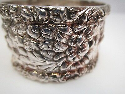 Stieff Rose Sterling Silver Napkin Ring no Monogram EARLY