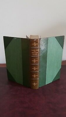 Poetical Works Of William Blake Half Leather Bound