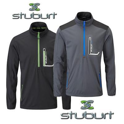 Stuburt Cyclone Half Zip Soft Shell Thermal Golf Wind Top - FREE Delivery!