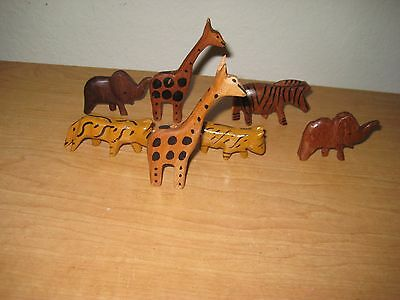 Vintage Carved Wood Animals / Figurines