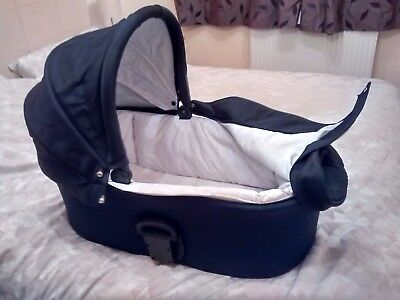 MAMAS AND PAPAS Urbo, Sola, Glide And Zoom Black Carrycot Also Fits Sola2 Urbo2