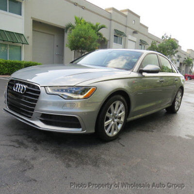 2012 Audi A6 4dr Sedan quattro 3.0T Prestige CARFAX CERTIFIED. FULLY LOADED. MINT CONDITION. MUST SEE