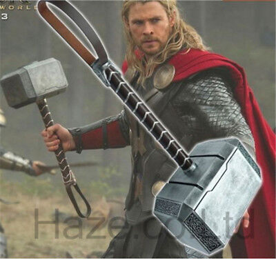 The Avengers Thor Portable Mjolnir Props 1:1 Model Toy present