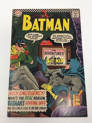 Batman #183 (Aug 1966, DC) Second Appearance of Poison Ivy