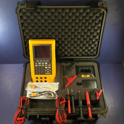 Fluke 744 Documenting Process Calibrator, DPC, Excellent! with case &accessories