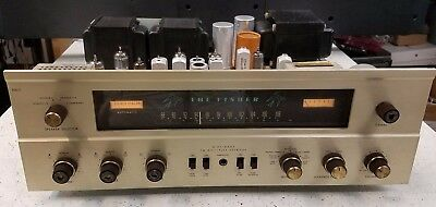 Free Shipping! JUST SERVICED! Fisher Model 500-C Stereo Receiver, tube 500c 500
