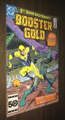 BOOSTER GOLD #1 -- February 1986 -- 1st Appearance -- VF Or Better