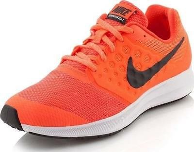 Boy's Youth NIKE DOWNSHIFTER 7 Neon Orange Casual/Athletic Sneakers/Shoes NEW