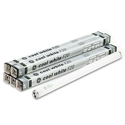 """Ge 24"""" Fluorescent Tubes 20 Watts 6/Pack 80046"""