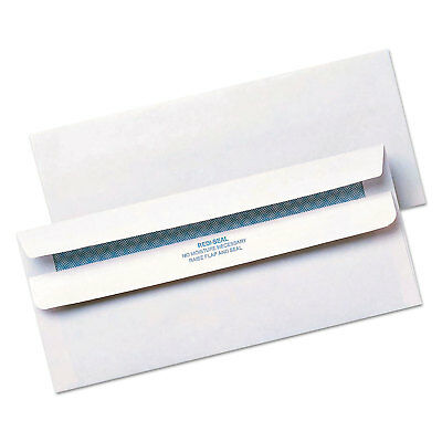 Quality Park Redi Seal Envelope Security #10 4 1/8 x 9 1/2 White 500/Box 11218
