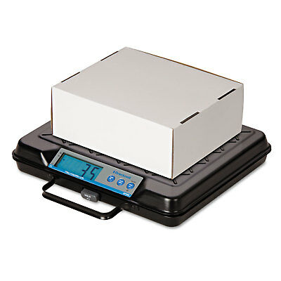Brecknell Portable Electronic Utility Bench Scale 100lb Capacity 12 x 10