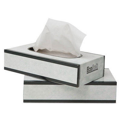 WAUSAU PAPERS EcoSoft Facial Tissue, 100 Sheets/Pack 13000