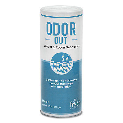 Fresh Products Odor-Out Rug/Room Deodorant Bouquet 12oz Shaker Can 12/Box