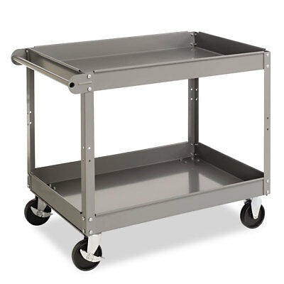 TENNSCO Two-Shelf Metal Cart, 24w x 36d x 32h, Gray SC2436