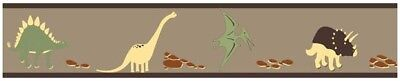 Sweet Jojo Designs Dinosaur Baby Kid Wall Paper Border Room Decor Wallcovering